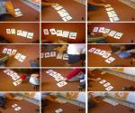 αρίθμηση αναγνώριση κατασκευή διάταξης 5 με χάρτινες κάρτες01