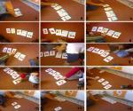 αρίθμηση αναγνώριση κατασκευή διάταξης 5 με χάρτινες κάρτες 01
