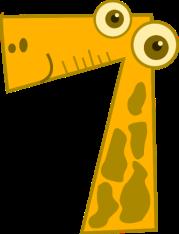 cartoon-number-7-flashcard-paper-craft